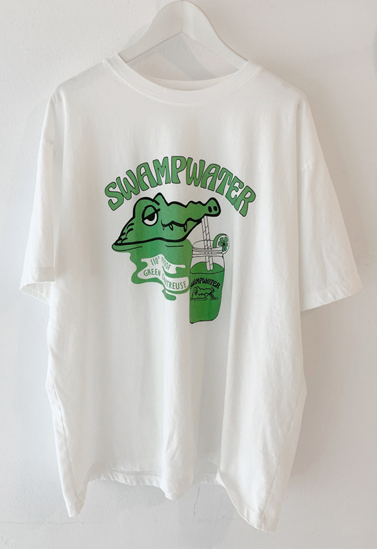 swamp water 루즈핏 티셔츠 (2color)